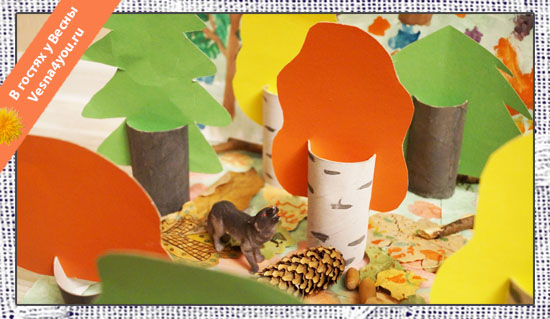 Как делать деревья из туалетной бумаги